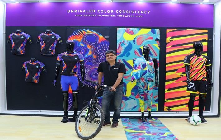 Vitesh Sharma, Head of Sign & Graphics, HP; Pic: HP