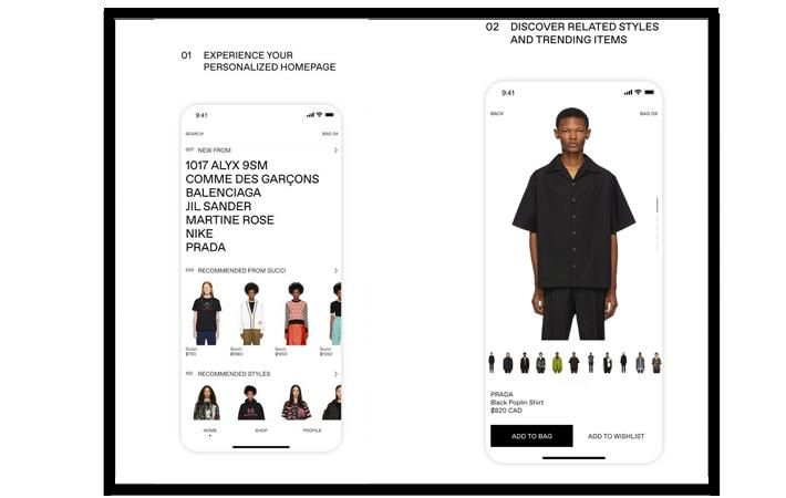 Pic: PR Newswire/CNW Group/SSENSE