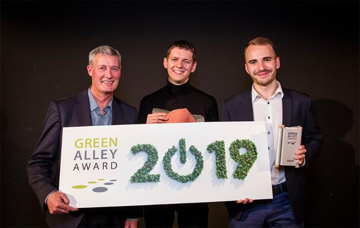 Pic: Green Alley Award
