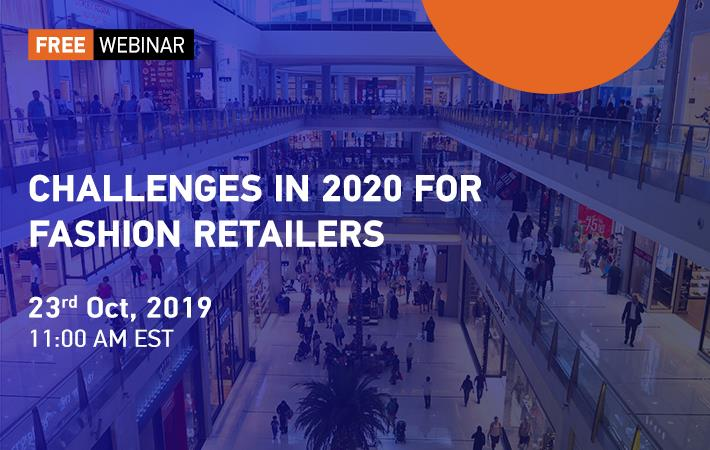 F2F webinar: Challenges in 2020 for Fashion Retailers