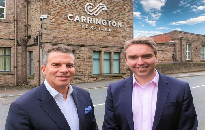 (L-R) Neill and Paul, Pic: Carrington