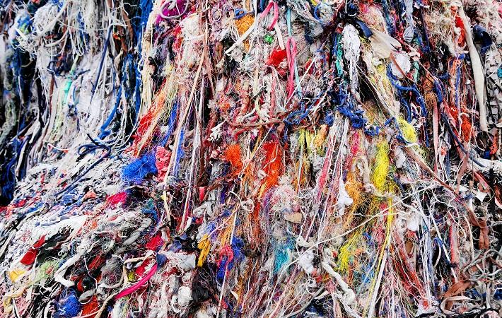 Industrial cotton waste; Pic: Shutterstock