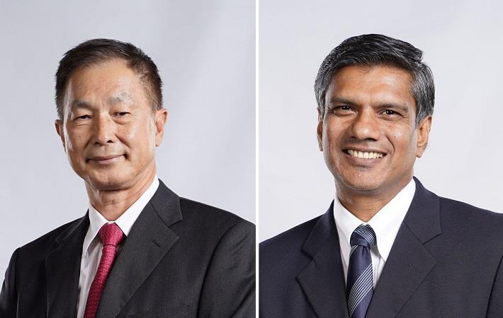 Teejay Lanka chairman Bill Lam (left) and CEO Shrihan Perera. Pic: Teejay Lanka