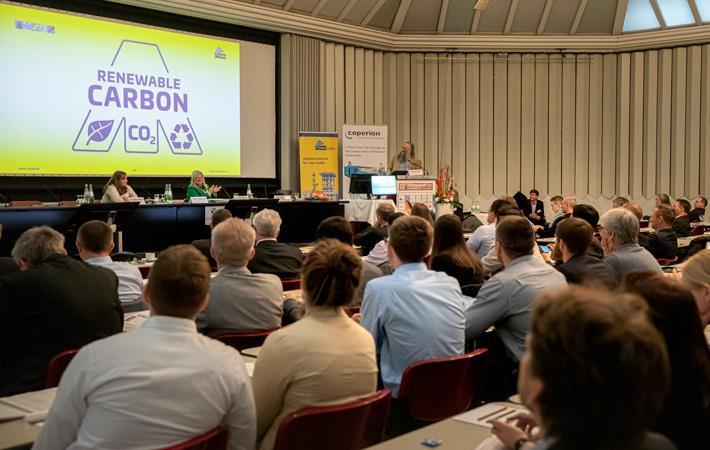 8th Biocomposite Conference Cologne, Congress Hall; Speaker: Michael Carus. Pic: nova-Institut GmbH DE