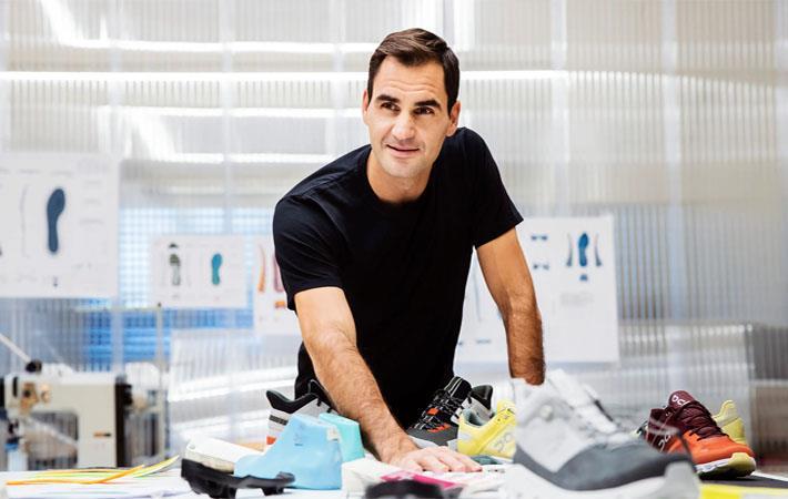 Roger Federer. Pic: PR Newswire