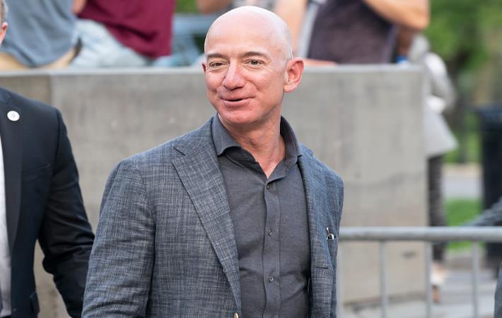 Jeff Bezos. Pic: Shutterstock