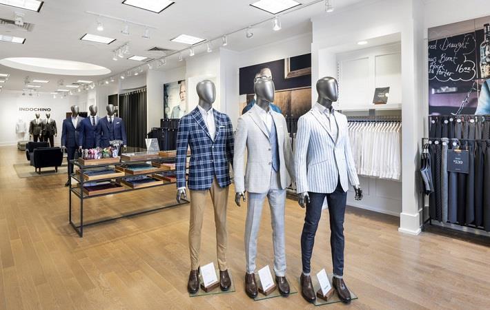 Indochino showroom; Pic: PR Newswire