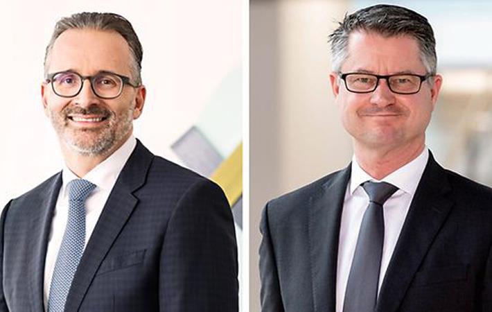 Carsten Knobel (left) and Marco Swoboda. Pic: Henkel