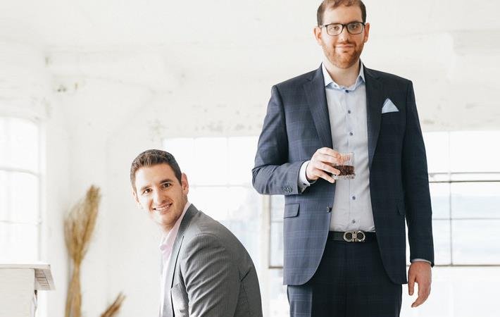 Tall Order founders Dan and Mike Friedman. Pic: PR Newswire
