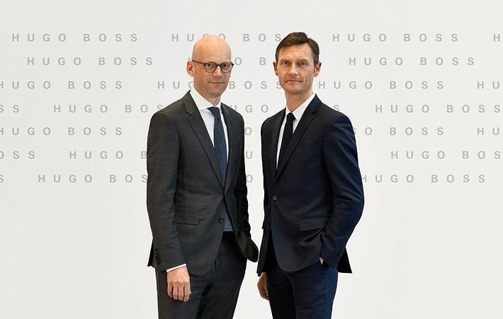 Heiko Schäfer (right); Pic: Hugo Boss
