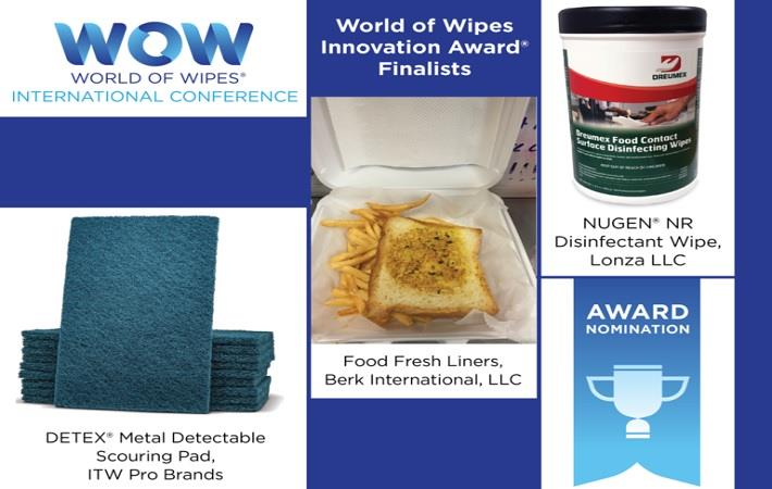 INDA unveils World of Wipes Innovation Award finalists
