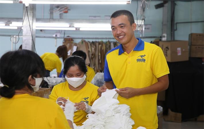 Dony Garment makes protecting gear principal manufacturing line