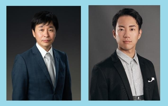 Takahiro Hiraki (left) and Ryosuke Nakayama. Pic: Mimaki Europe