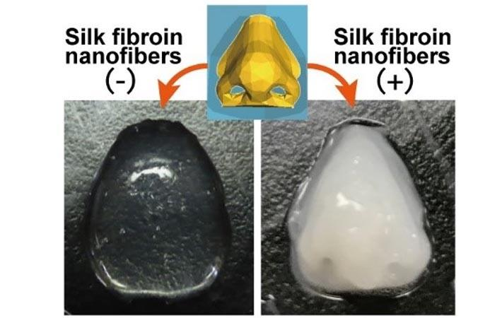 Osaka team uses silk nanofibres to improve 3D printing