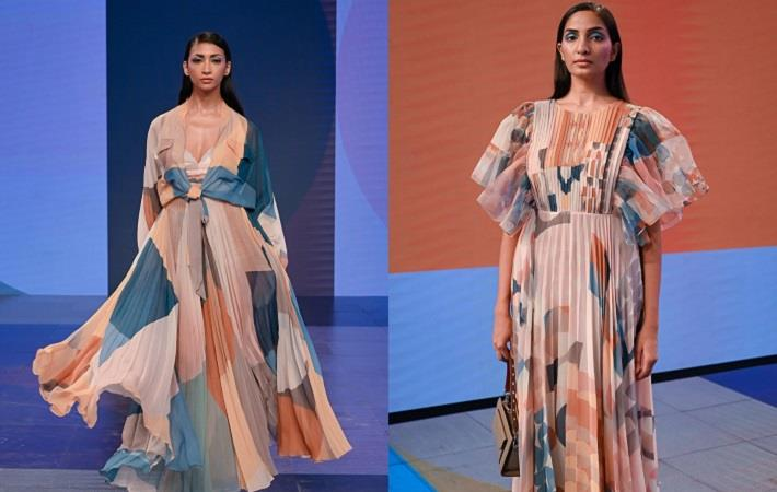 R|Elan presents Talisman by Pankaj & Nidhi at LFW 2020