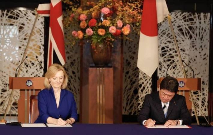 United Kingdom signs post-Brexit trade deal with Japan