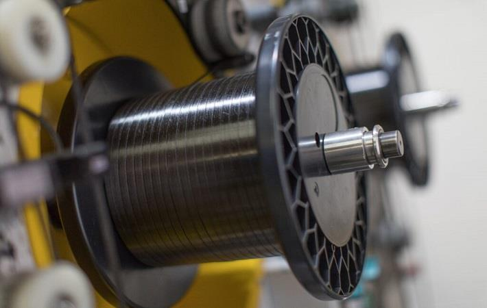 High-precision composite slitting to 1mm. Pic: Bindatex
