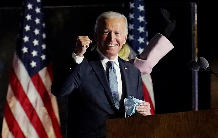 US President-elect Joe Biden. Pic: Stratos Brilakis / Shutterstock.com