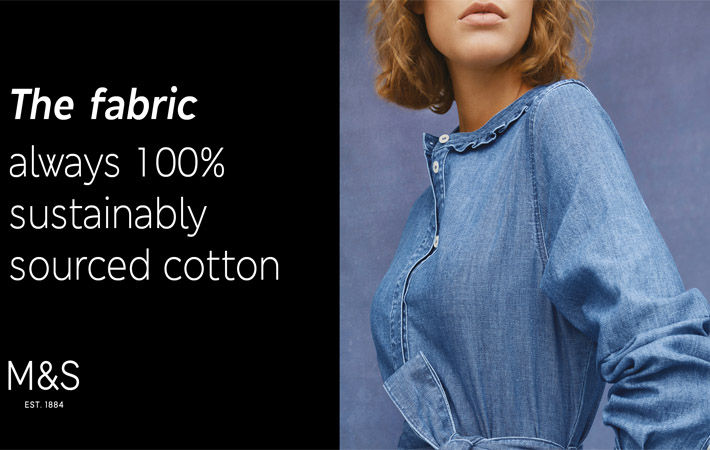 M S Clothing Sets New Sustainability Standards For Denim Fibre2fashion