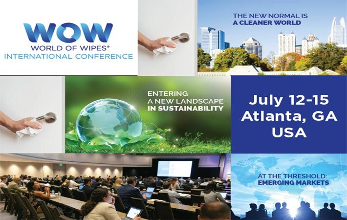INDA's World of Wipes conference in Atlanta registers 400 attendees