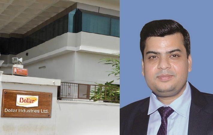 Inset: Dollar Industries Ltd chief financial officer Ajay Kumar Patodia