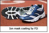 Ion mask coating by P2i