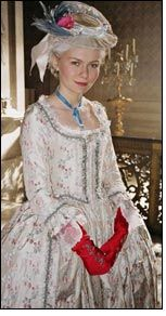 Rubelli Fabrics dress Oscar winner Marie Antoinette