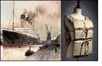 Titanic survivor's life jacket gains fat bids
