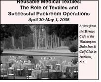 Seminar on reusable medical textiles in Durham