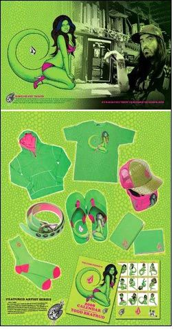 Volcom ties up with Todd Bratrud for 'Lizard-print'