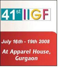 Ramp shows showcasing all the latest creations at 41st IIGF