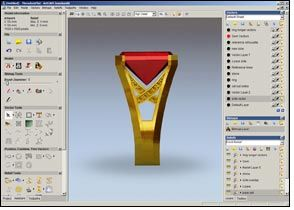 ArtCAM JewelSmith, a CADCAM software solution from Delcam
