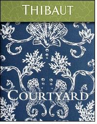 Courtyard fabric adds zing to indoor/outdoor living