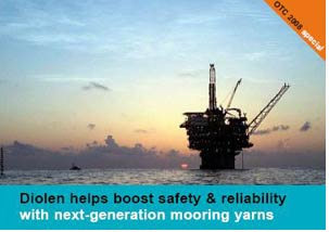 Diolen 870TN provides added advantages to offshore industry