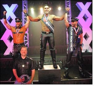 Gary Iriza wins title of International Mr. Leather 2008