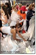 Filene's Basement holds 'Running of the Brides' sale