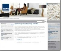 Balta Group introduces its new website