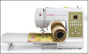 SVP introduces SINGER CONFIDENCE QUILTER sewing machine