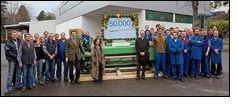 Dornier delivers 50,000th rapier weaving machine