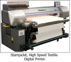 StampaJet, High Speed Textile Digital Printer