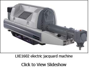 LXE1602 electric jacquard machine