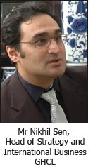 Mr Nikhil Sen, Head of Strategy and International Business, GHCL