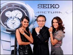 SEIKO Arctura collection pays homage to beauty of arc