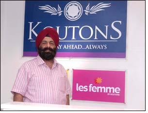 Mr D P S Kohli, Chairman, Koutons