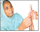 Skill up-gradation for leather women artisans by Kanpur BDS