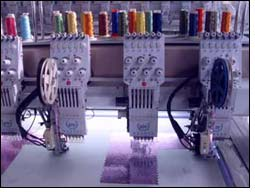 RP easy chenille embroidery machine with multitude functions