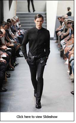 Riccardo Tisci's men's collection reflects confident masculinity