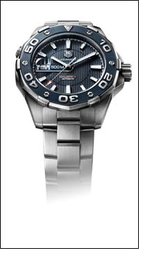 Aquaracer 500M watch gives a sporty sophistication