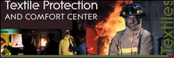 New test method to minimize stored heat burns in firefighter suits