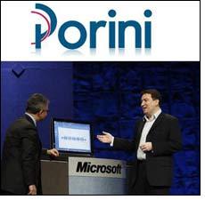 Porini to participate in Microsoft Convergence
